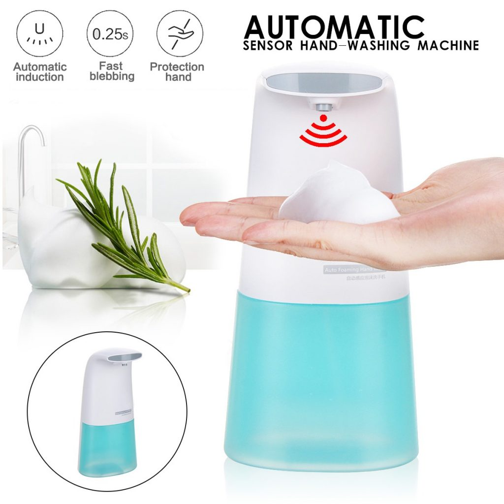 kupon, banggood, Xiaomi Smart Automatic Induction Foaming Soap Hand Washer Infrared Soap Dispenser