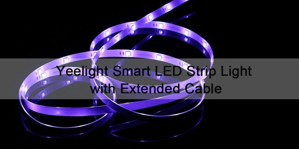 coupon, gearbest, Yeelight YLDD04YL 2m LED Smart Strip Light 220V