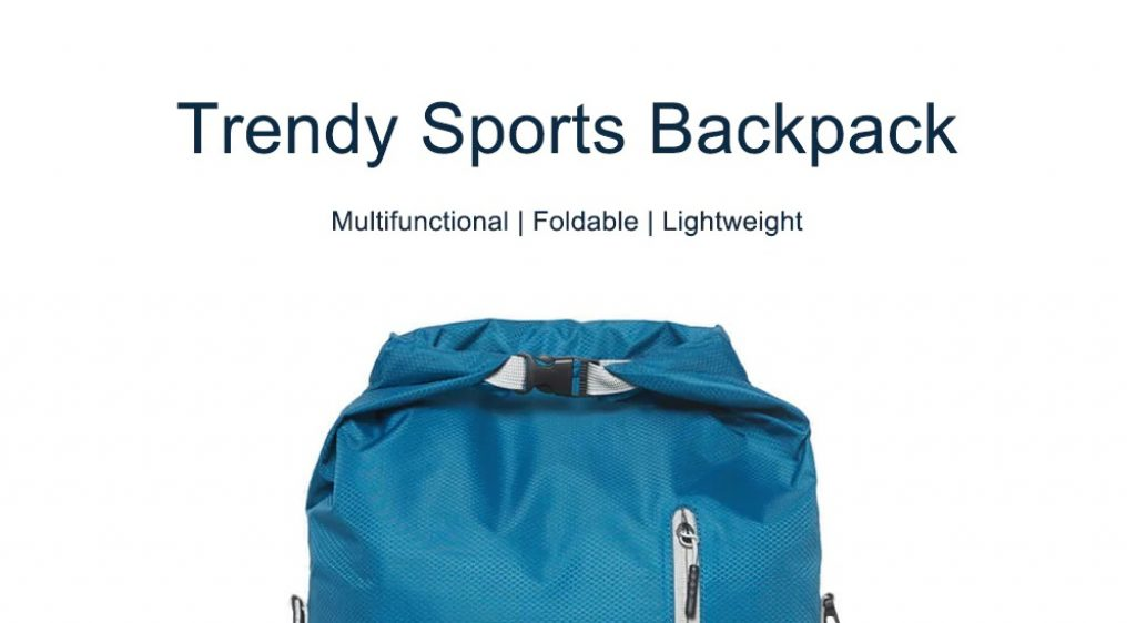 coupon, gearbest, 90FUN Trendy Multifunctional Foldable Sports Backpack from Xiaomi Youpin