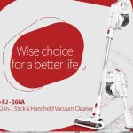 coupon, gearbest, Alfawise FJ - 166A Cordless Stick Vacuum Cleaner
