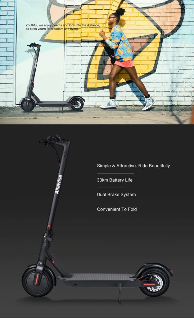 coupon, gearbest, Alfawise M1 Folding Electric Scooter