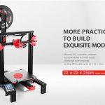 Kupon, gearbest, Alfawise U30 2.8 inç Dokunmatik Ekran DIY Masaüstü 3D Yazıcı