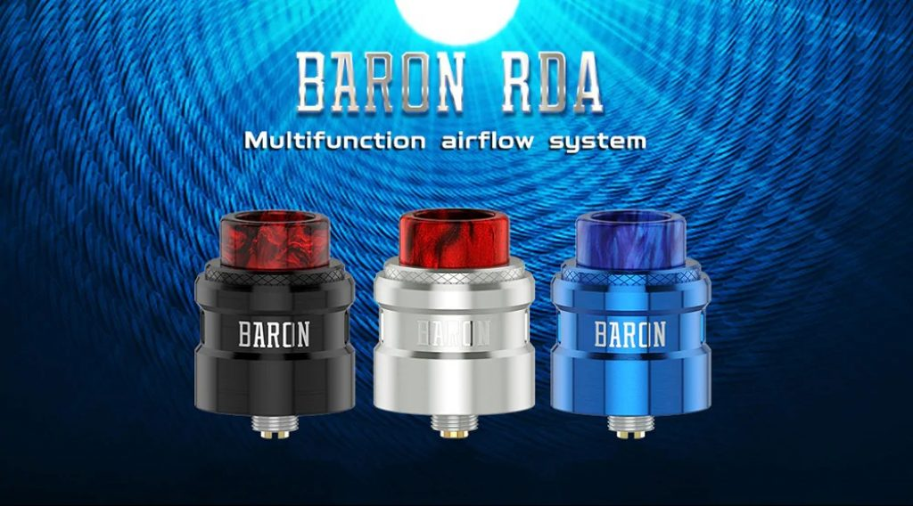 coupon, gearbest, Geekvape Baron RDA with Bottom Filling