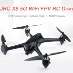 coupon, gearbest, JJRC X8 5G WiFi 1080P Camera FPV RC Drone GPS Positioning Altitude Hold Quadcopter