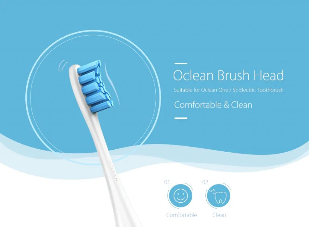 coupon, gearbest, Oclean One SE Replacement Brush Head