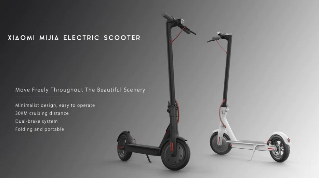 coupon, gearbest, Original Xiaomi M365 Folding Electric Scooter Europe Version