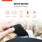 coupon, gearbest, Orimag P8 DLP Small Home Pocket Projector