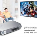 coupon, gearbest, RD - 603 Mini DLP Projector 150 ANSI Lumens