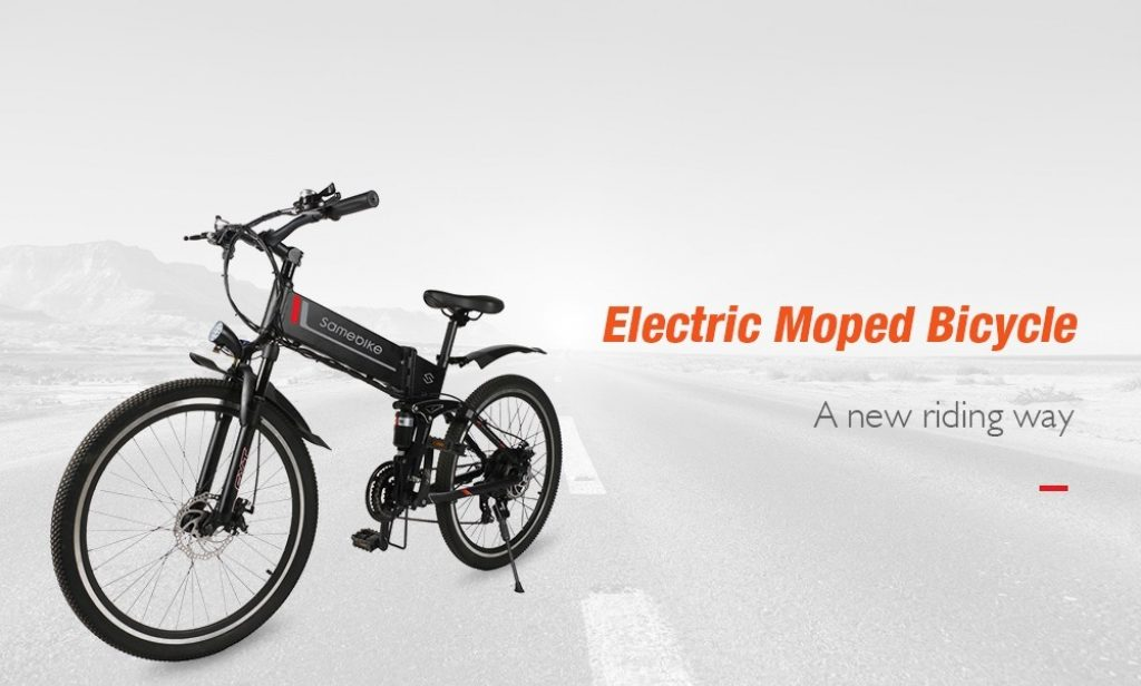 banggood, coupon, gearbest, Samebike LO26 Smart Folding Moped Electric Bike E-bike