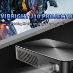coupon, gearbest, VIVIBRIGHT J10 Mini DLP Projector