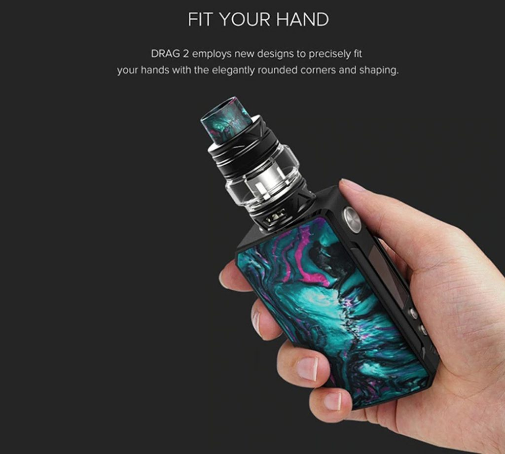 coupon, gerbest, Voopoo Drag2 Resin Version Electric Cigarette Kit Set