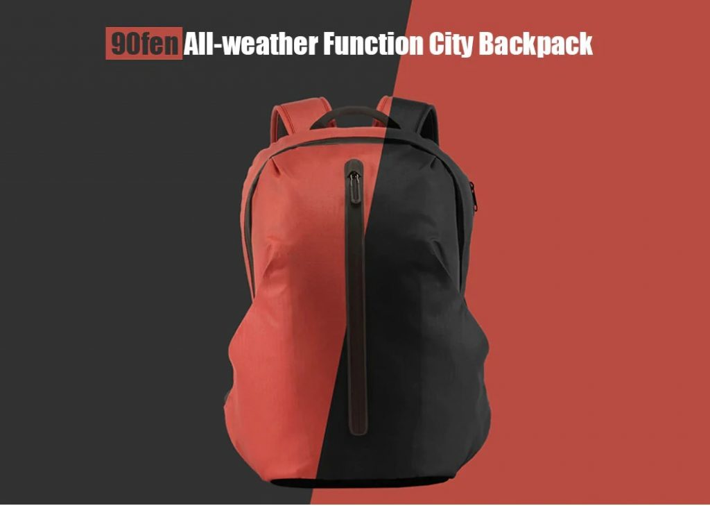 coupon, gearbest, Xiaomi 90fen All-weather Function City Laptop Backpack