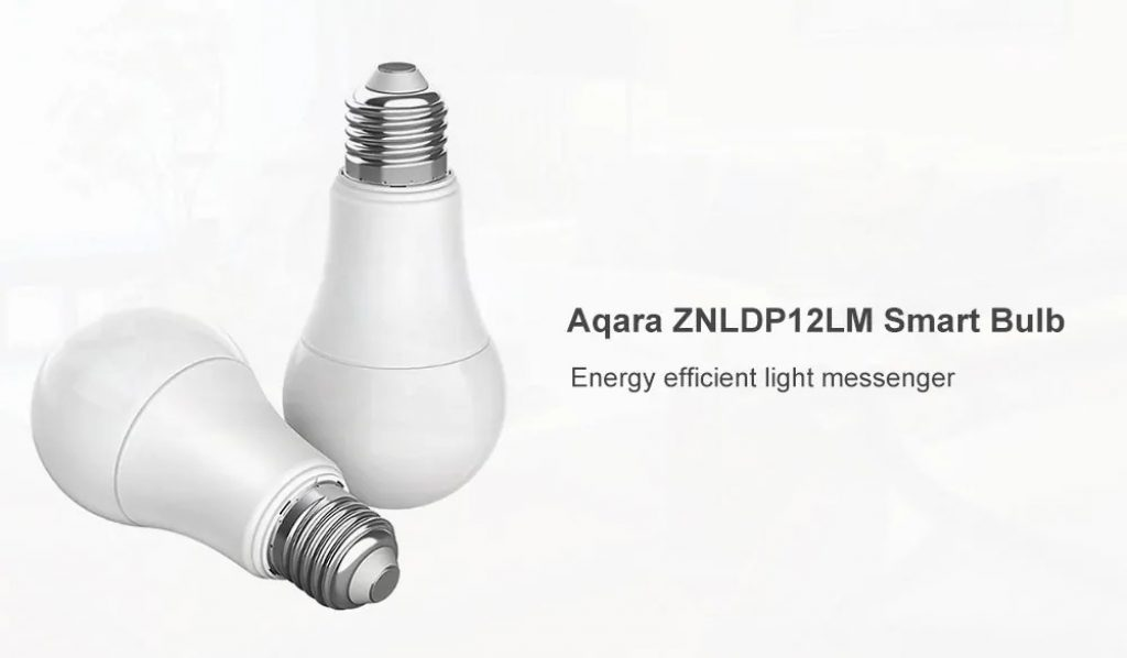 coupon, gearbest, Xiaomi Aqara ZNLDP12LM LED Smart Bulb
