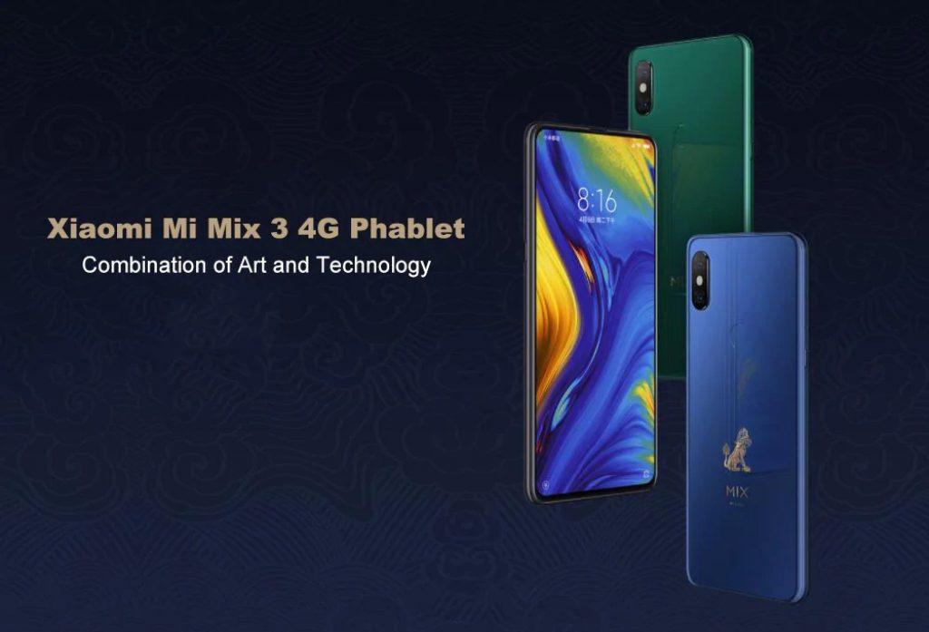 gearvita, geekbuying, banggood, coupon, gearbest, Xiaomi Mi Mix 3 4G Phablet