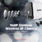 coupon, gearbest, gocomma 960P Outdoor Wireless IP Security Camera