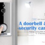 coupon, gearbest, gocomma Door Camera WiFi Snapshot Smart Doorbell