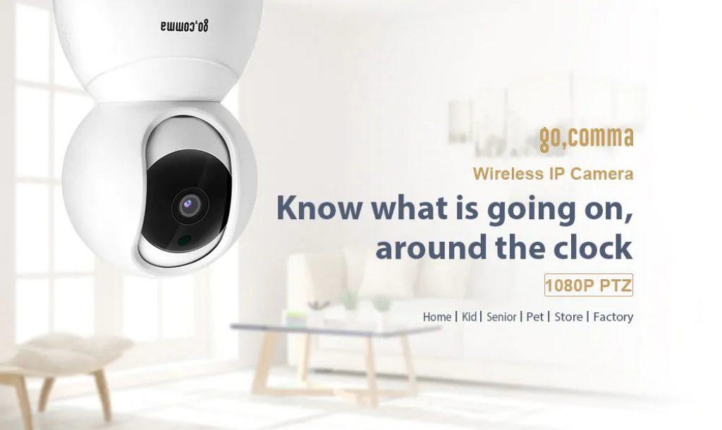 coupon, gearbest, gocomma Lilliput-001 1080P WiFi Security IP Camera