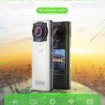 coupon, gearbest, 360-degree HD 4K Quality Dual Camera SC - CA08 Panoramic Motion Camera