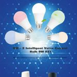 coupon, gearbest, BW - 2 WIFI Intelligent Voice Control Bulb