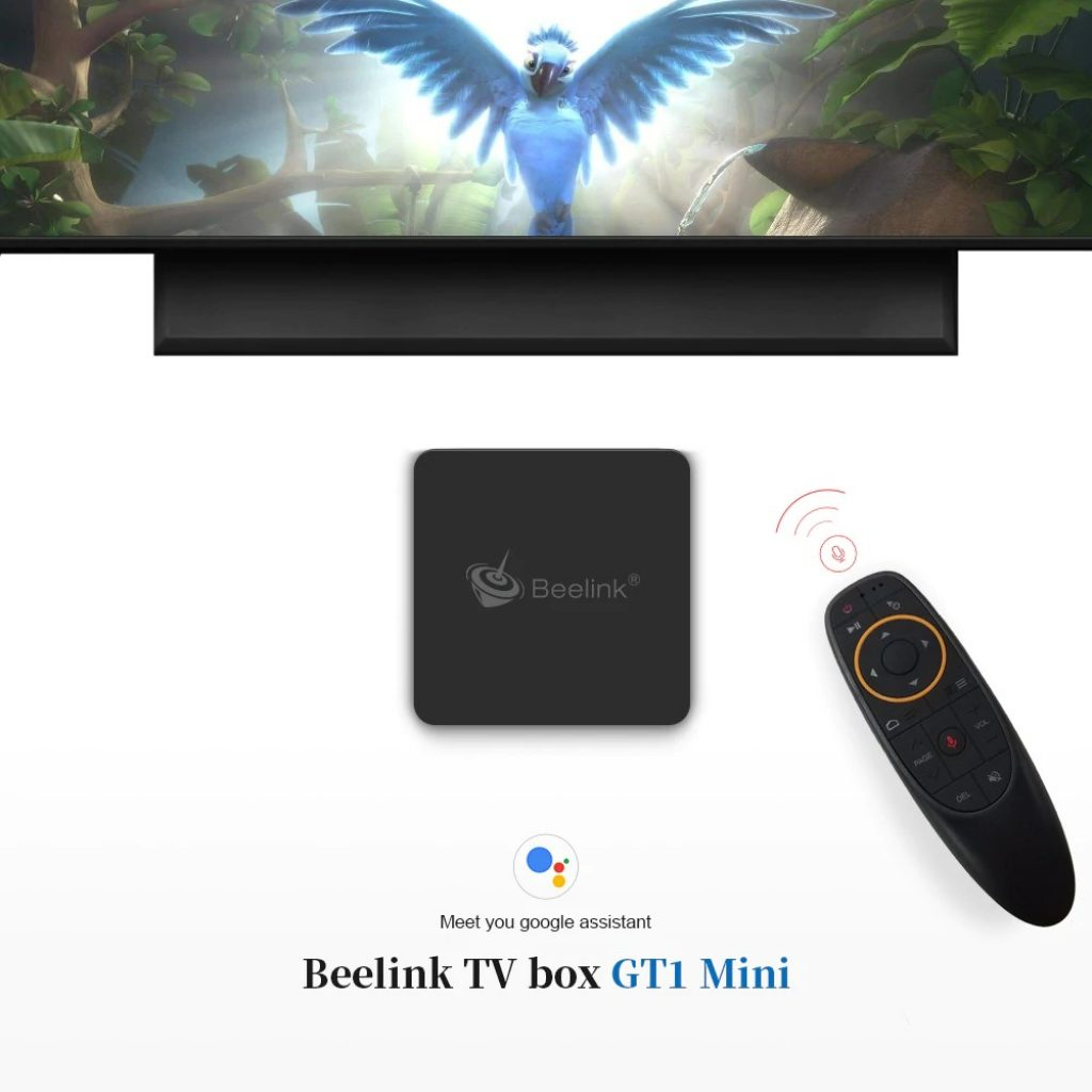coupon, gearbest, Beelink GT1 MINI TV Box with Voice Remote