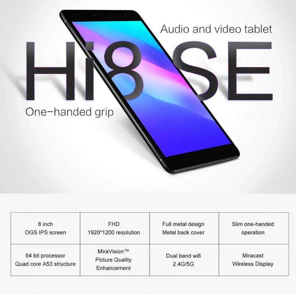 banggood, 쿠폰, gearbest, Chuwi Hi8 SE (CWI552) 태블릿