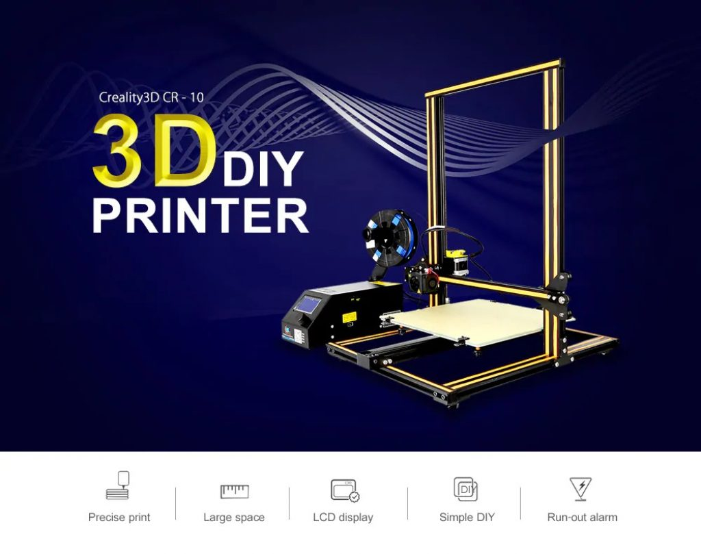 coupon, gearbest, Creality3D CR - 10S 3D Printer