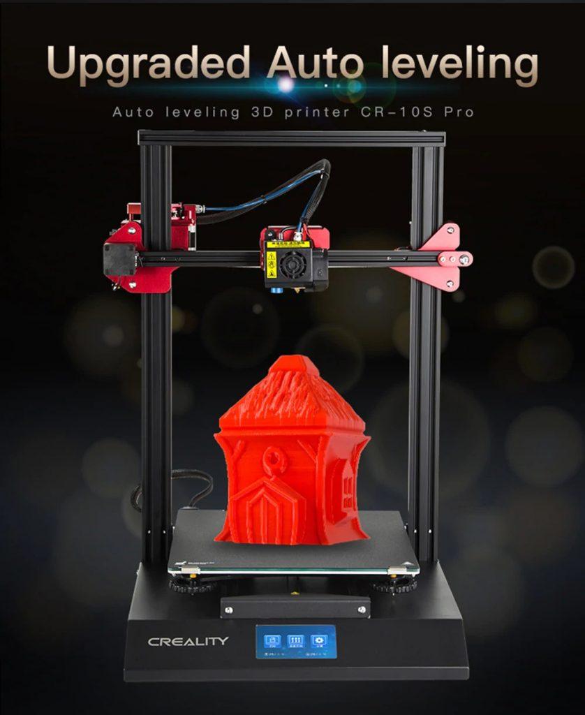 κουπόνι, κιβώτιο ταχυτήτων, Creality3D CR - 10S Pro 300 x 300 x 400 3D