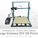 coupon, gearbest, Creality3D CR - 10S5 500 x 500 x 500mm 3D Printer
