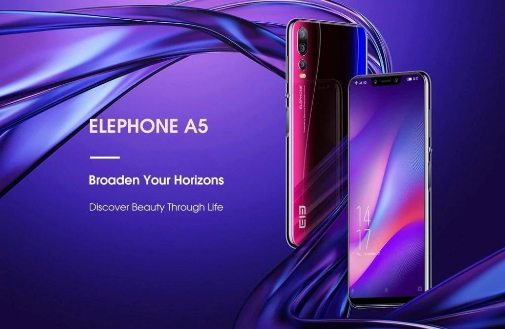 coupon, gearbest, Elephone A5 4G Phablet