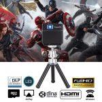 coupon, gearbest, Exquizon S6 Mini Cube DLP Pocket Projector