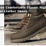 쿠폰, gearbest, 패션 편안한 클래식 높은 최고 캐주얼 가죽 신발