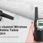 coupon, gearbest, Gocomma 8-channel 2-way Radio Walkie Talkie 2PCS