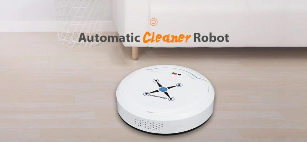 coupon, gerbest, Home Smart Ultra-thin Small Charging Sweeping Robot