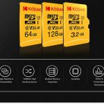 coupon, gearbest, Kodak High Speed U3 A1 V30 TF Micro SD Memory Card 128GB Support 4K