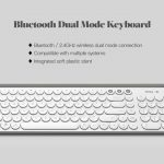 coupon, gearbest, Miiiw MWBK01 2.4GHz Wireless Bluetooth Keyboard from Xiaomi youpin