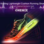 coupon, gearbest, Onemix Knitting Lightweight Cushion Running Shoes