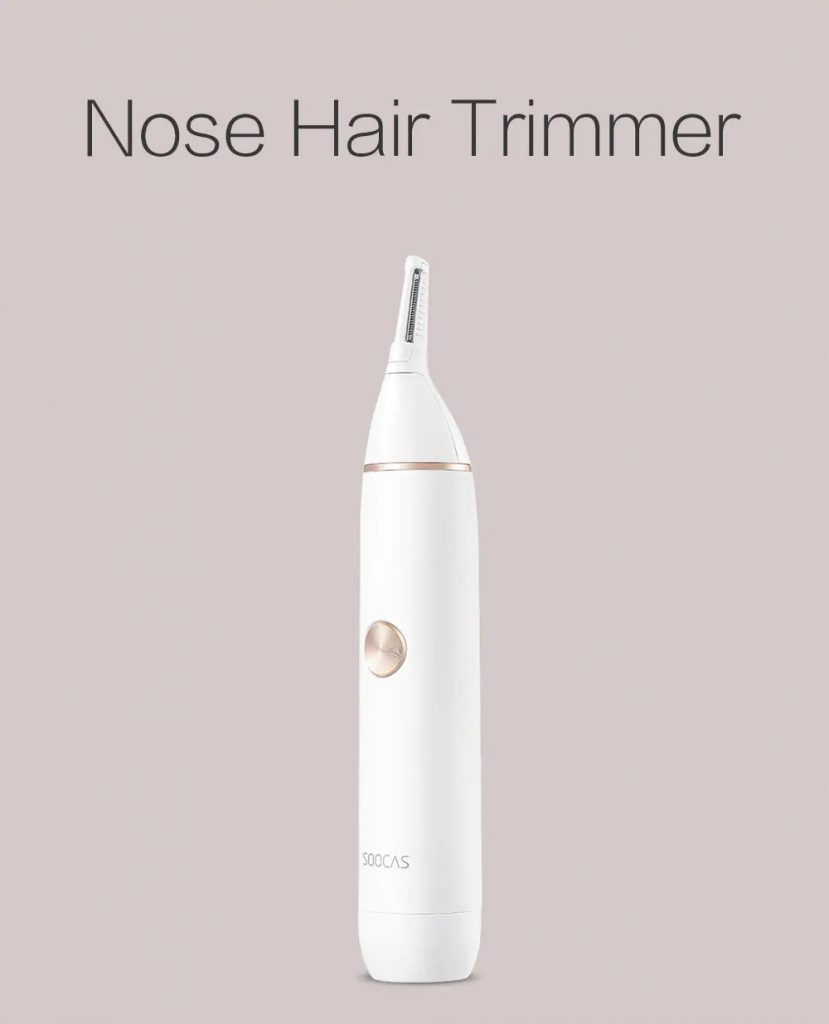 coupon, gearbest, SOOCAS N1 Nose Hair Trimmer from Xiaomi Youpin