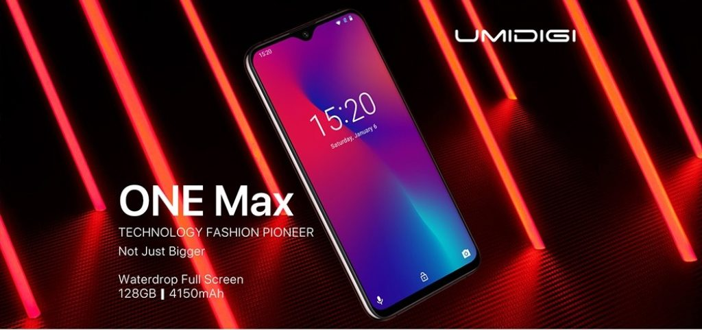 coupon, gearbest, UMIDIGI One Max 4G Phablet