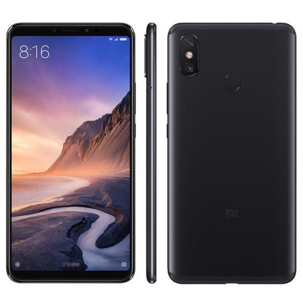 kupon, dişli, Xiaomi Mi Max 3 6.9 inç Büyük Ekran 4GB RAM 64GB ROM Snapdragon 636 4G Akıllı Telefon - Siyah, kupon, BANGGOOD