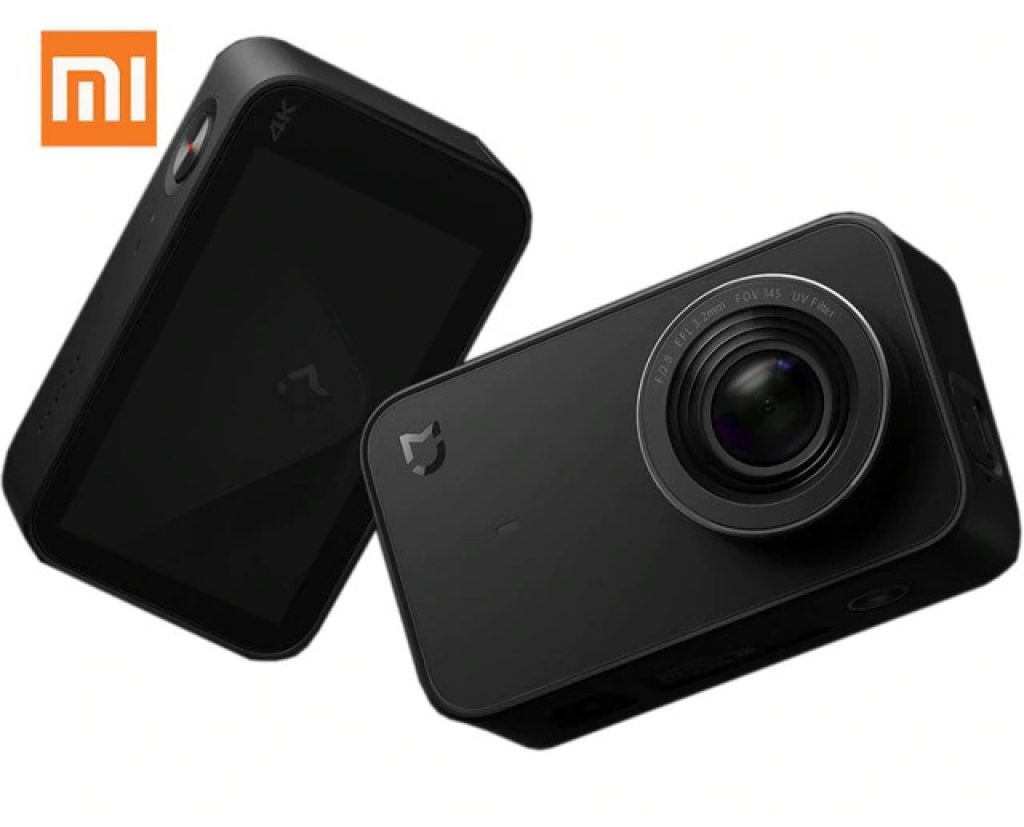 coupon, banggood, Xiaomi Mijia Mini Camera 4K 30fps Ambarella A12S75 Sony IMX317 2.4inch Touch Screen 7 Glass Lens Six-axis EIS 145 Degree Ultra Wide Angle Action Camera Global Version