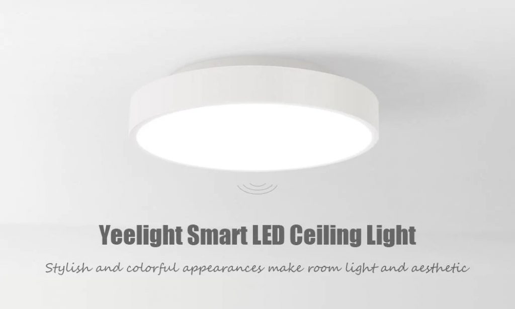 coupon, gearbest, Yeelight YLXD01YL 320 28W Smart LED Ceiling Light AC 220V - WHITE WITH REMOTE CONTROL