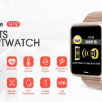 coupon, gearbest, Alfawise H19 RFID Sports Smartwatch Fitness Tracker