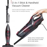 coupon, banggood, Dibea SC4588 2-in-1 Bagless Lightweight Corded Stick Vacuum Cleaner with Cyclone HEPA Filtration