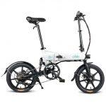 coupon, gearbest, FIIDO D2 Μετατόπιση Έκδοση 16 ιντσών Πτυσσόμενο ηλεκτρικό ποδήλατο