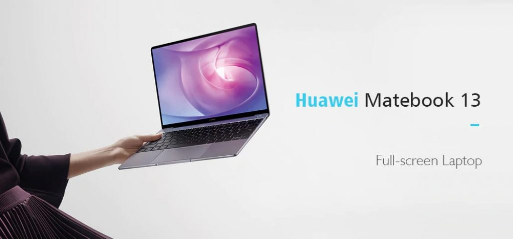 Huawei Matebook 13 Laptop - SILVER, coupon, GearBest