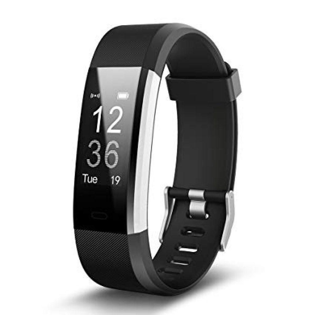 ID115 Plus 0.96 Inch Smart Bracelet - BLACK, coupon, GearBest