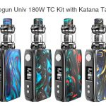 coupon, gearbest, IJOY Shogun Univ 180W TC Kit with Katana Tank 5.5ml