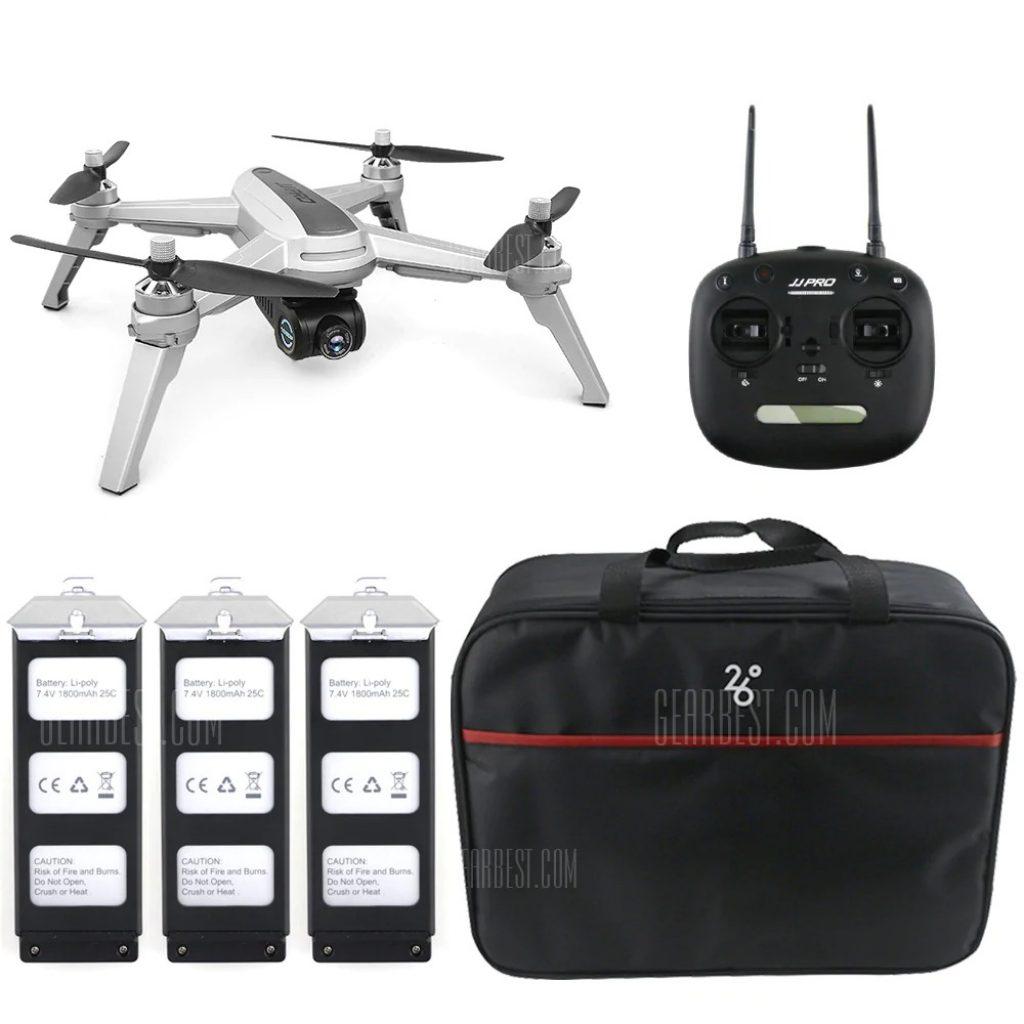 phiếu giảm giá, gearbest, JJRC JJPRO X5 5G WiFi FPV RC Drone