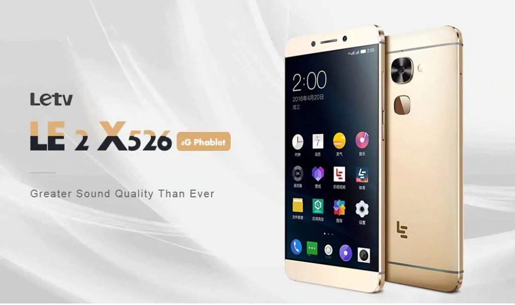 €84 with coupon for LeTV Le X526 4G 3GB RAM 64GB ROM 16 0MP