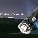 coupon, gearbest, MHVAST TS70 Portable Strong Light LED Flashlight for Outdoor